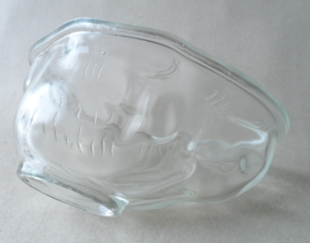 kitchen equipment used unfinished cart vintage mid century large clear glass traditional ...